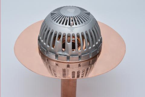 Ultra Mek Dome copper roof drain | Les produits Murphco